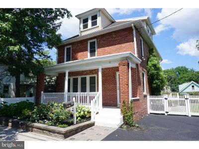 Princeton Single Family Home For Sale: 57 & 55 Leigh Avenue