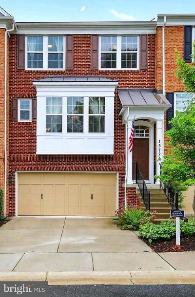 Gaithersburg Townhouse For Sale: 15721 Quince Trace Terrace