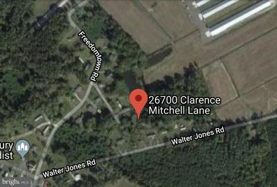 Somerset County Residential Lots & Land For Sale: 26700 Clarence Mitchell Lane