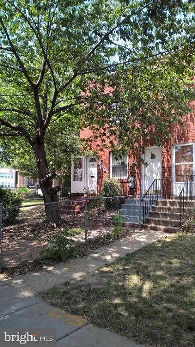 Capitol Hill Single Family Home For Auction: 400 Oklahoma Avenue NE