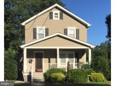 Cherry Hill Single Family Home For Sale: 32 Conwell Avenue