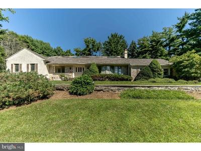 Bryn Mawr Single Family Home For Sale: 822 Lafayette Road