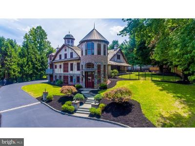 Haverford PA Single Family Home For Sale: $2,799,999