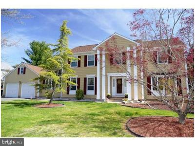 Princeton Junction Single Family Home For Sale: 74 E Cartwright Drive