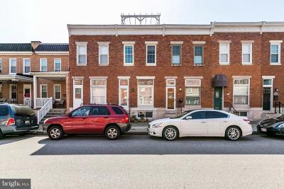 Locust Point Townhouse For Sale: 1245 Hull Street