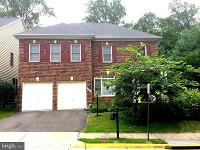 Fairfax County, Fairfax City Single Family Home Active Under Contract: 9539 Parsonage Lane