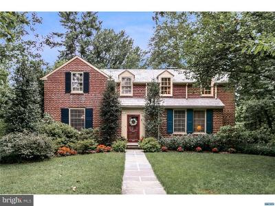 Wilmington Single Family Home For Sale: 3202 Swarthmore Road