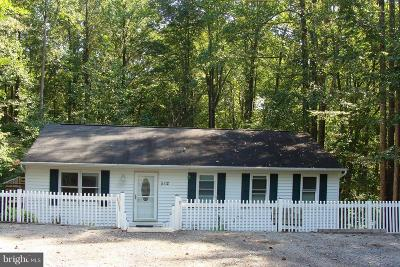 Calvert County, Saint Marys County Single Family Home Active Under Contract: 8512 Perch Court