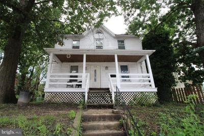 Baltimore Single Family Home For Sale: 618 Willow Avenue