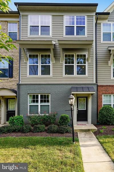 Chantilly Townhouse For Sale: 43983 Eastgate View Drive