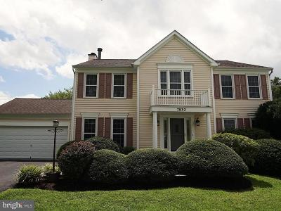Ellicott City Single Family Home For Sale: 7832 Flagstone Court