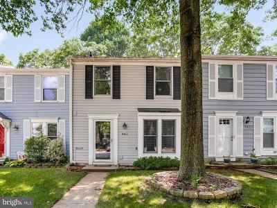 Columbia Townhouse Under Contract: 9423 Granite Hill Road