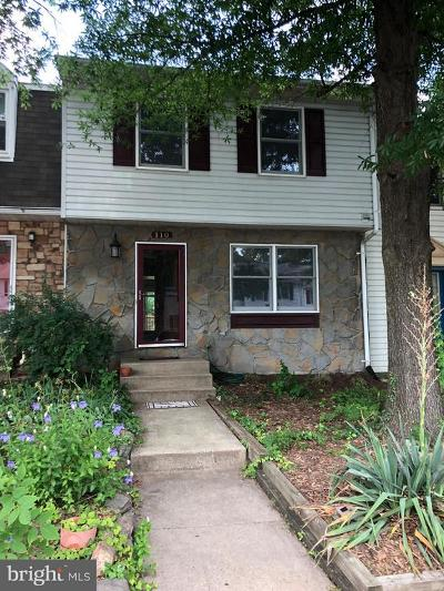 Leesburg Townhouse For Sale: 110 Nottoway Street SE
