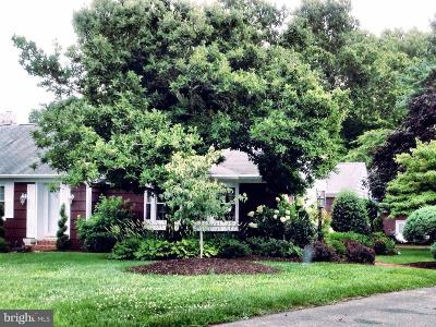 Laurel Single Family Home Under Contract: 32399 Meadow Branch Drive