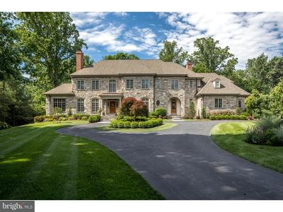 Villanova Single Family Home For Sale: 1107 Brynlawn Road