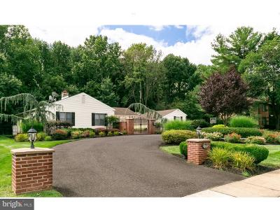 Moorestown Single Family Home For Sale: 236 N Riding Drive