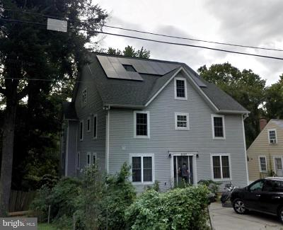 Takoma Park MD Single Family Home For Sale: $799,000
