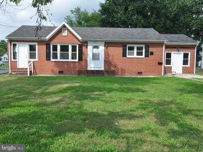 Pocomoke City Single Family Home For Sale: 1403 Market Street