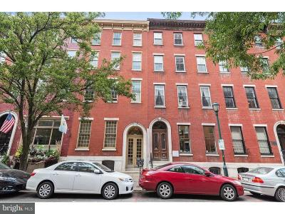 Rittenhouse Square Townhouse For Sale: 1628 Spruce Street #3