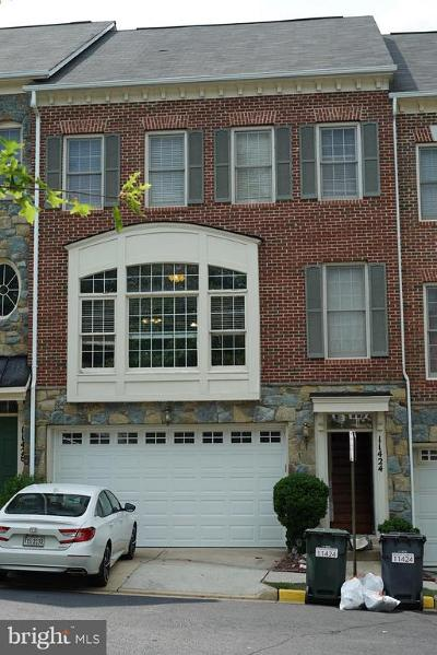 Fairfax Townhouse For Sale: 11424 Log Ridge Drive