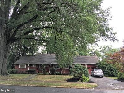 Newark Single Family Home For Sale: 101 Townsend Road
