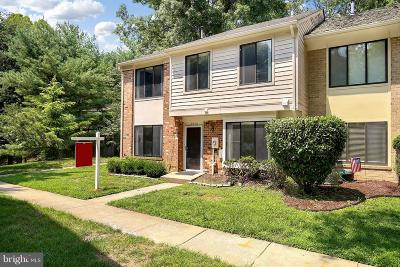 Potomac Townhouse For Sale: 10846 Whiterim Drive