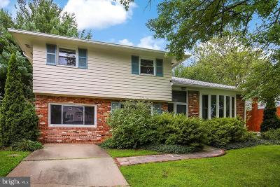 Bethesda Single Family Home For Sale: 8614 Rayburn Road