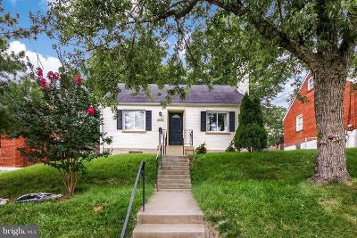 Cheverly Single Family Home Under Contract: 6325 Kilmer Street