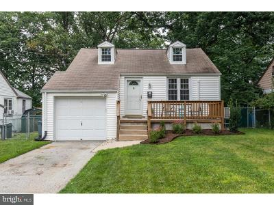 Newtown Square Single Family Home For Sale: 33 Barren Road