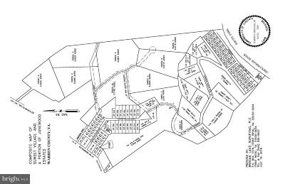 Frederick County, Harrisonburg City, Page County, Rockingham County, Shenandoah County, Warren County, Winchester City Residential Lots & Land For Sale: Not On File