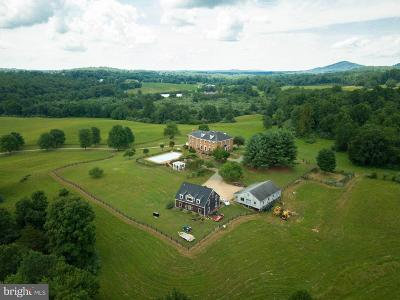 Rappahannock County Farm For Sale: 223 Poes Road S