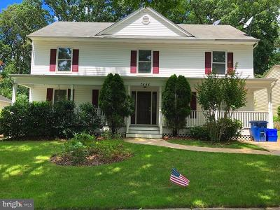 Montgomery County Single Family Home Active Under Contract: 7444 Brenish Drive