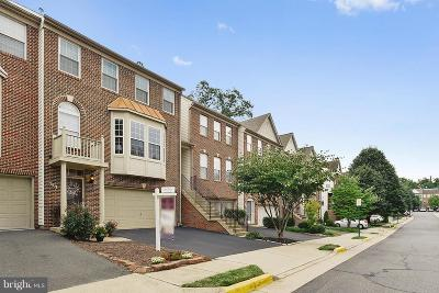 Fairfax Townhouse For Sale: 4131 Brookgreen Drive