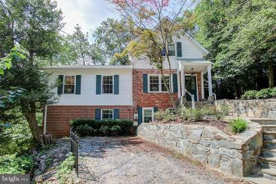 Bethesda Single Family Home For Sale: 6205 Windward Place