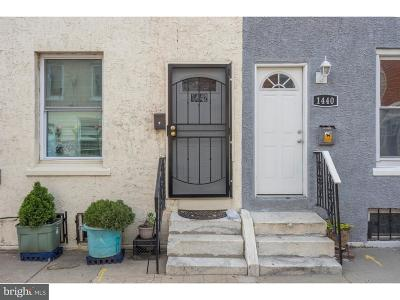 Point Breeze Townhouse For Sale: 1442 S Hicks Street