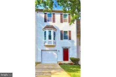 Suitland Townhouse For Sale: 4122 Silver Park Terrace