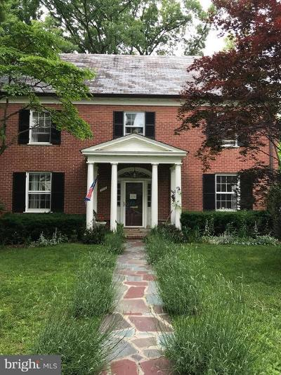 Chevy Chase Rental For Rent: 3209 Pickwick Lane