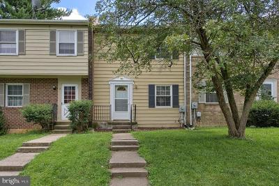 Frederick Townhouse For Sale: 4 Vienna Court