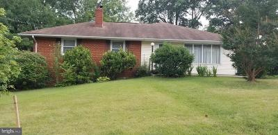 Beltsville Single Family Home Active Under Contract: 3404 Stonehall Drive