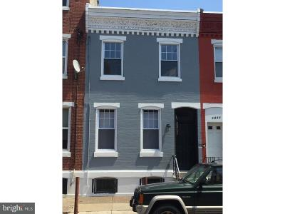 Point Breeze Townhouse For Sale: 1433 S 20th Street
