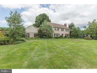 Doylestown Single Family Home For Sale: 4457 Burnt House Hill Road