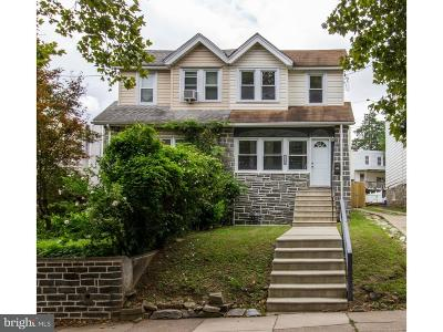 Upper Darby Single Family Home For Sale: 7508 Parkview Road