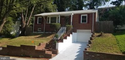 Temple Hills Single Family Home For Sale: 3522 28th Parkway