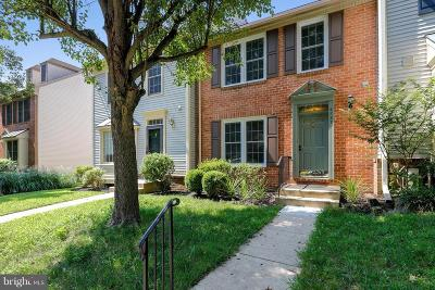 Ellicott City Townhouse For Sale: 4737 Columbia Road