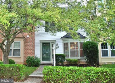 Montgomery Village Townhouse Active Under Contract: 8551 Hawk Run Terrace