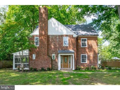 Wilmington Single Family Home For Sale: 609 N Dupont Road