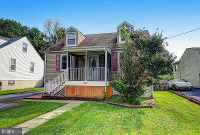 Baltimore Single Family Home For Sale: 327 Wye Road