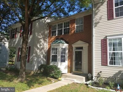 Suitland Townhouse For Sale: 2336 Woodbark Lane