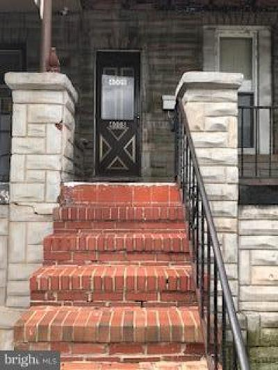 Baltimore City Townhouse For Sale: 4008 Pennington Avenue