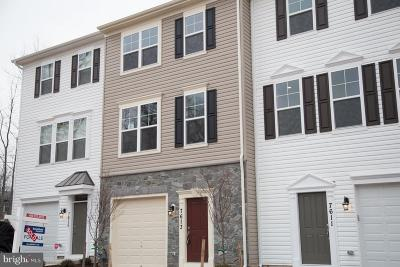 Glen Burnie Townhouse For Sale: Glaser Ln